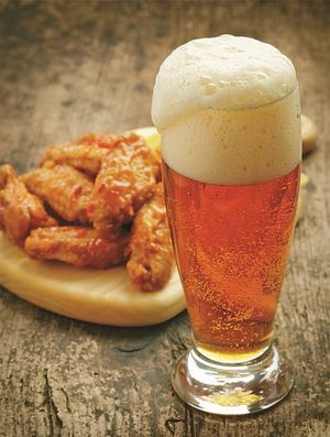 Combination of fried chicken and beers is creating sensation known as 'Chimaek.'Photo courtesy of Korea Food Foundation
