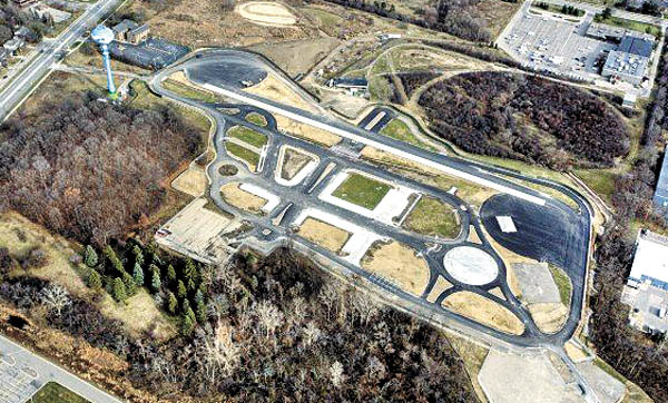 The track benchmarked the Mcity, the world's first autonomous driving tech test and research space built by the University of Michigan. [SAMSUNG GROUP]