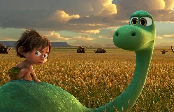 """Disney-Pixar's animated feature """"The Good Dinosaur"""" opened in first place at the Korean box office. [DISNEY-PIXAR]"""