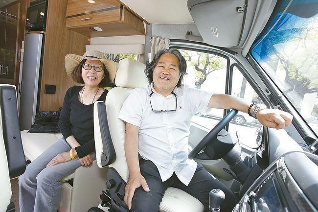 Image result for old couple road trip