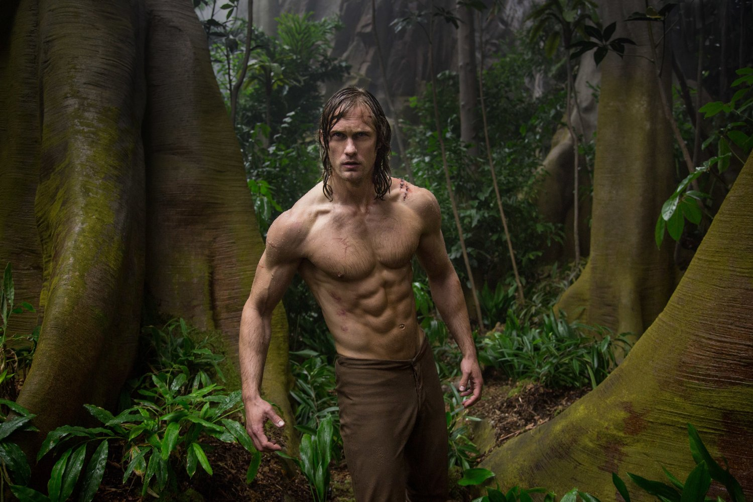 Alexander Skarsgård in The Legend of Tarzan (2016) Credit: 2014 Warner Bros. Entertainment Inc.