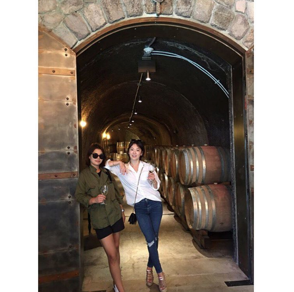 Photo Credit: Song Hye-kyo's Instagram