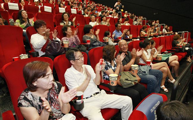 Take Off 2 began screening at L.A.'s GCV Cinemas on Thursday. Starting Friday, the screening will expand to nine more cities, including Fullerton, across the country. Sang Jin Kim