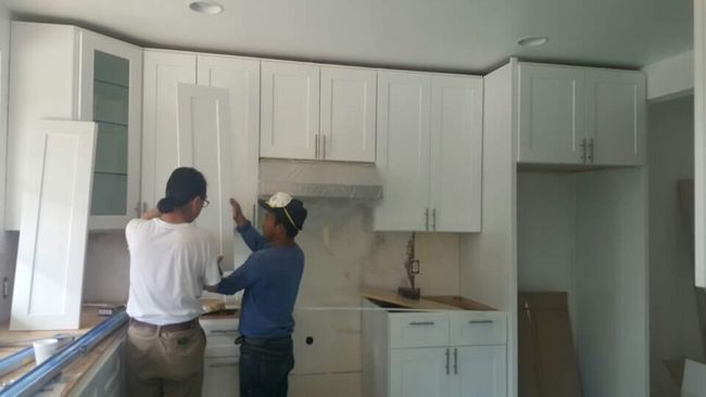 As home prices continue to rise, the home remodeling market is also experiencing a similar increase in demand. A Korean-American-owned home in Glendale is under renovation.