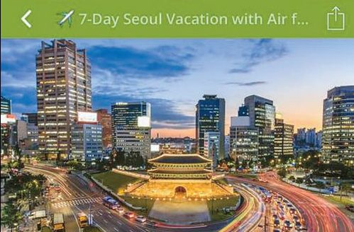 Groupon Offers a 7-Day Vacation in Seoul for Less Than 1K Dollars - The Korea Daily