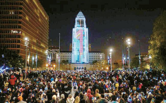 Photograph: Courtesy Grand Park Grand Park New Year's Eve LA.