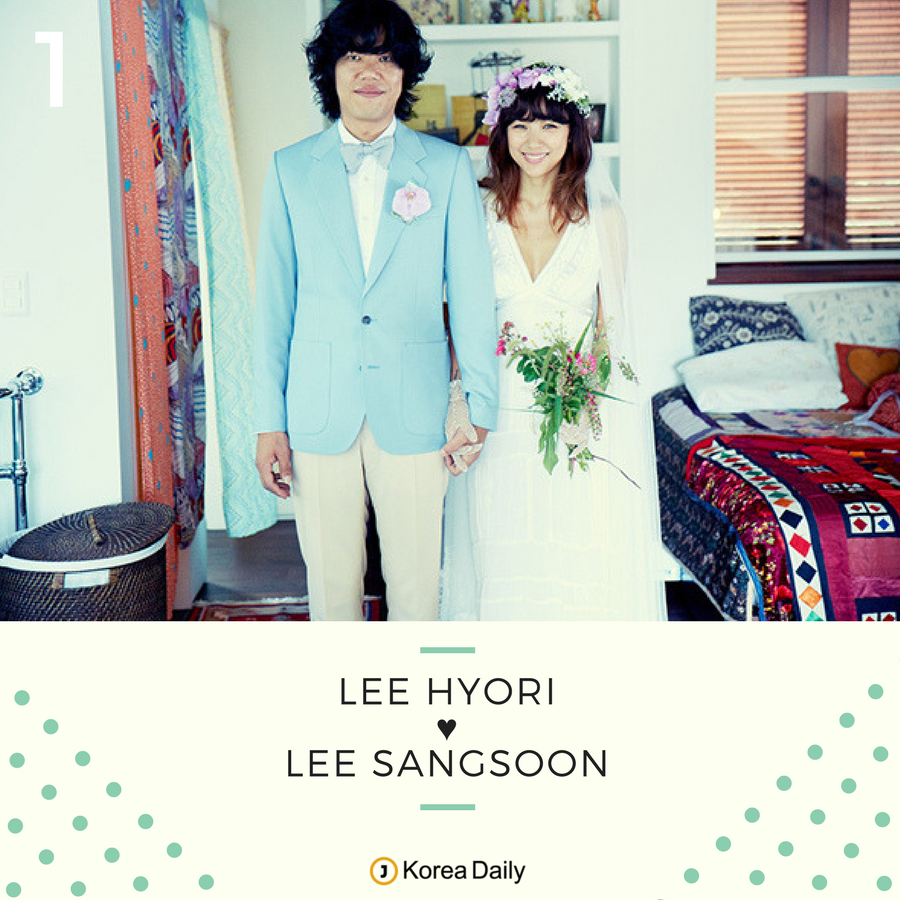 These Korean Celebrity Couples Brought Back the Small Wedding Trend ...