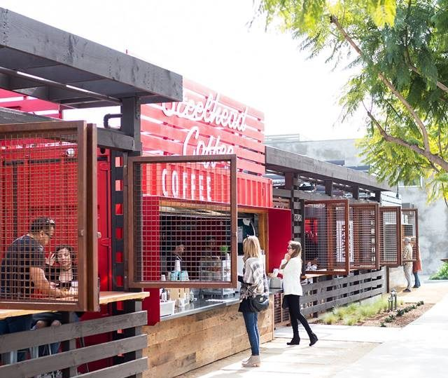 Shipping Container Food Court