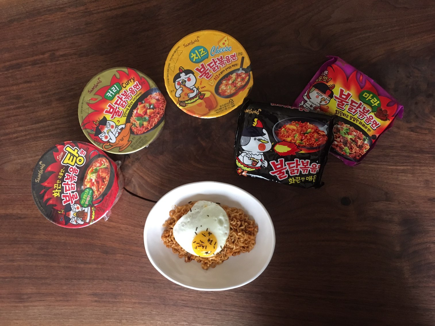 Updated We Tried All 6 Fire Noodle Flavors And Heres Our Ranking Samyang Nuclear 2x Spicy You Must Have Encountered One Of Those Challenge Videos While Surfing The Web Buldak Bokkeum Myun Which Is Commonly Referred To As
